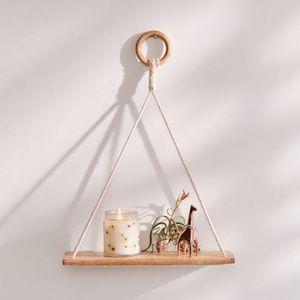 2/$40⎜BNWOT⎜UO⎜Elie Macramé Hanging Shelf